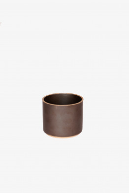 hasami black bowl tall x-small/cup